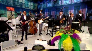 Mardi Gras at Harry - band