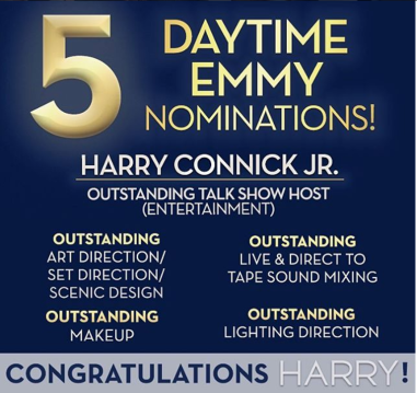Harry gets nominated for 5 Daytime Emmy's!